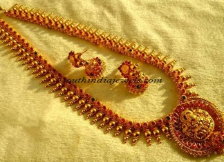 1 gram gold jewellery long haram