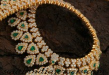 22 carat gold necklace from navarathan jewellers
