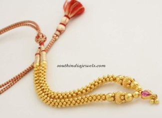 22K Golden ball necklace
