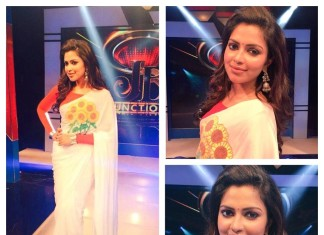 Actress Amala paul wearing Jhumka