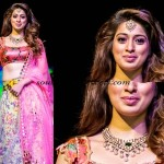 Actress Laksmi Roi in huge Polki Necklace