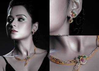 Actress Manesha jewellery in latest photo shoot