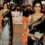 Celebrity Peep : Sridevi in Diamond Jewellery