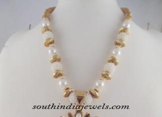 Antique Jewellery beaded necklace design