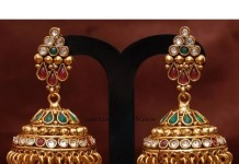 Antique Jewellery jhumkas