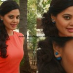 Bindu Madhavi in double sided earrings