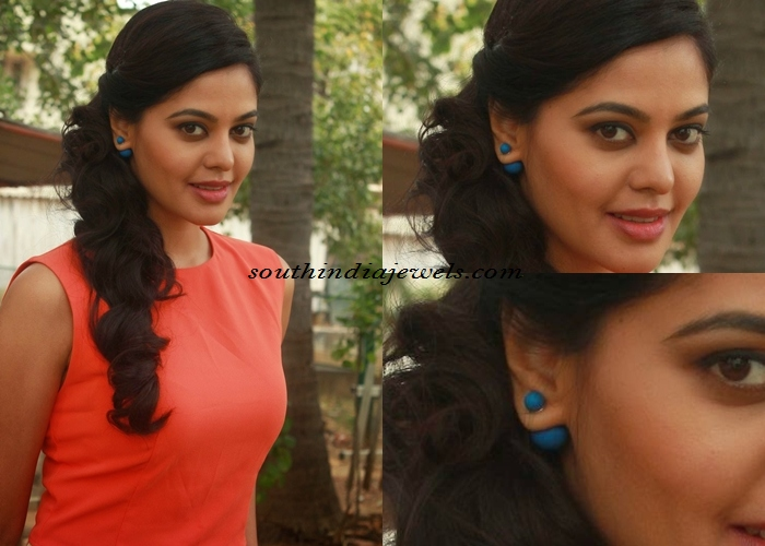 Bindu Madhavi in fashion jewellery