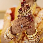 Indian Bridal Jewellery – Stone Bangles