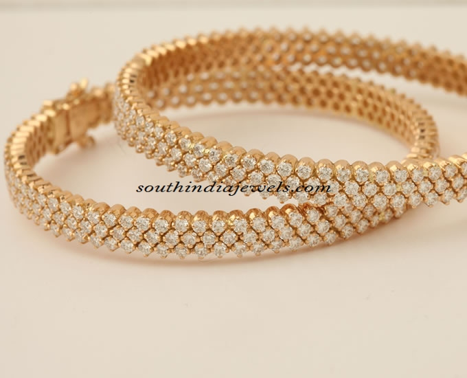 Diamond bangles from PNG Jewellers