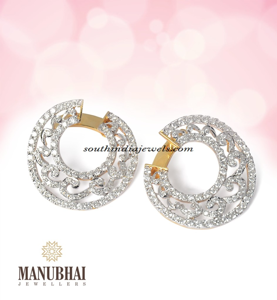 Earrings from Manubhai Jewellers