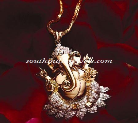 Gold Pendany Design