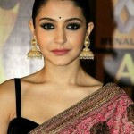Actress Anushka Sharma wearing adorable Jhumkas