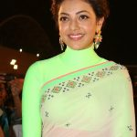 Kajal Agarwal wearing Valliyan Earrings