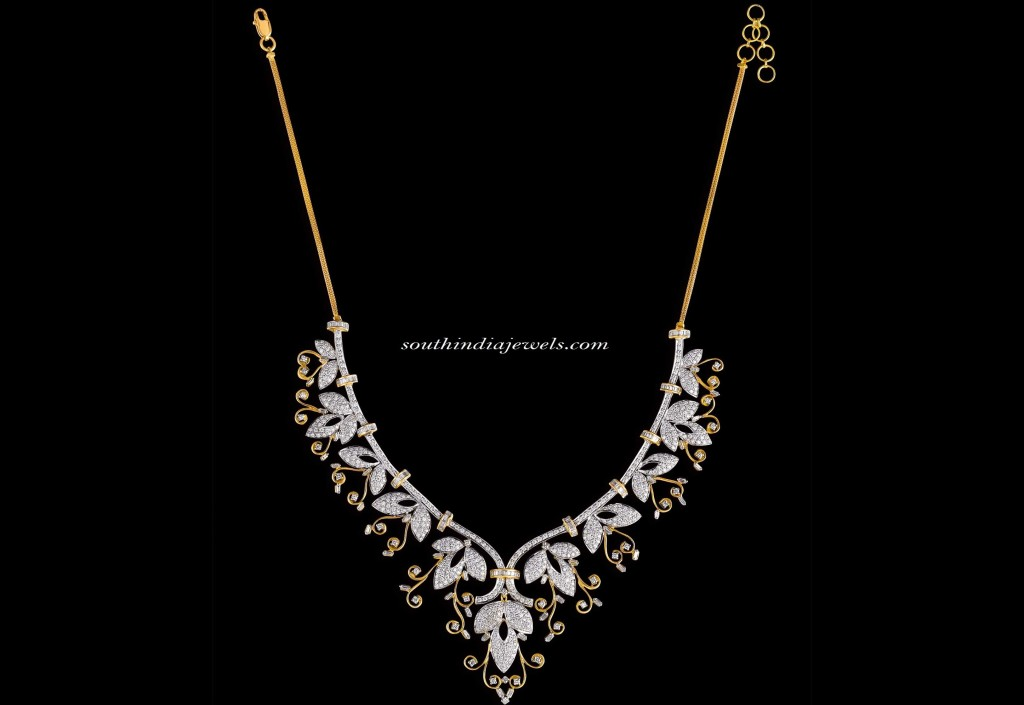 Kalyan-Jewellers-Diamond-necklace