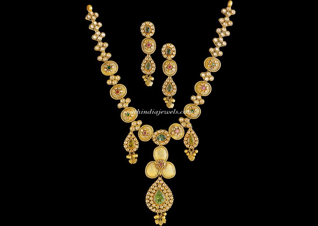 Kalyan Jewellers Diamond Jewellery necklace