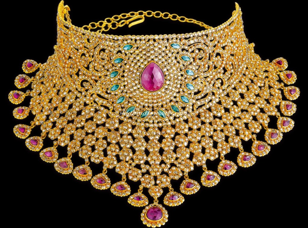 Kalyan Jewellers Diamond Jewellery choker
