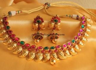 Kemp Jewellery mango necklace set