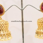 Bell shaped Kemp jhumka