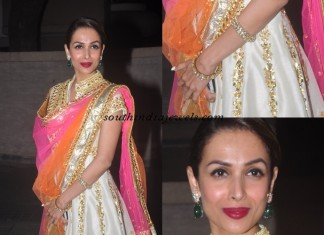 Malaika Arora Khan in Polki Jewellery