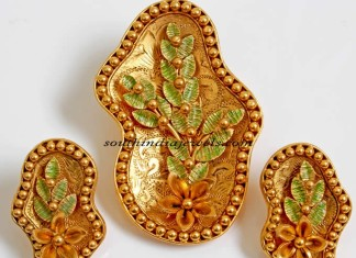 Pendant set designs from PNG jewellers