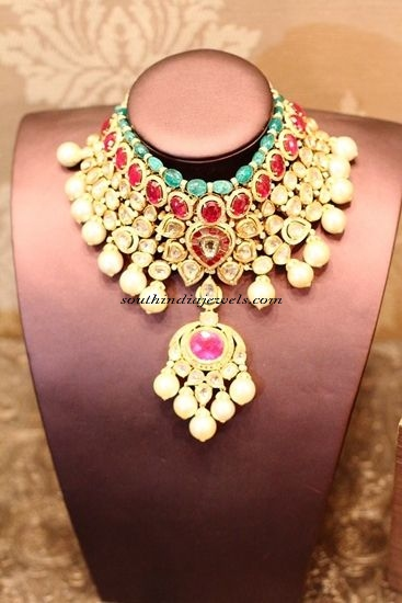 Polki Jewellery necklace designs