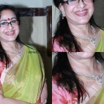 Sheela in Diamond Necklace