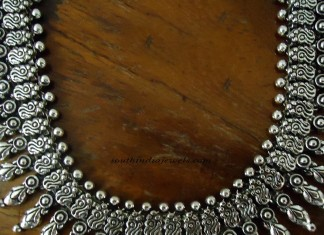 Silver Jewellery Oxidized necklace