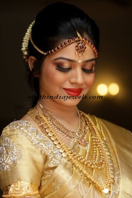 Bridal Wedding Jewellery For South Indian Bride South India Jewels