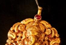 Temple Jewellery ganesh pendant