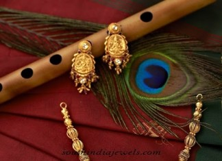 Temple Jewellery Necklace set