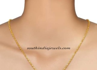 Gold Chains design from Tanishq