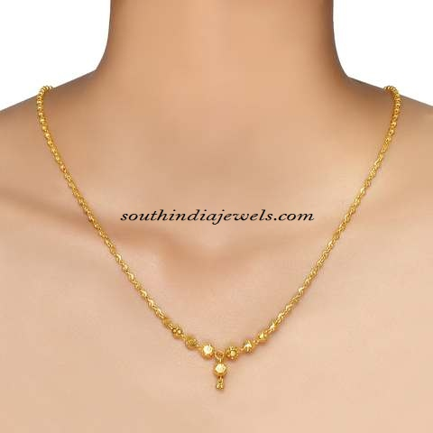 jewellery or tanishq designer chains gold platinum online