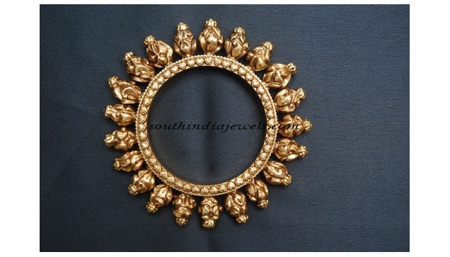 Gold Jewellery Kada Bangle