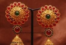 imitation jewellery kemp jhumka