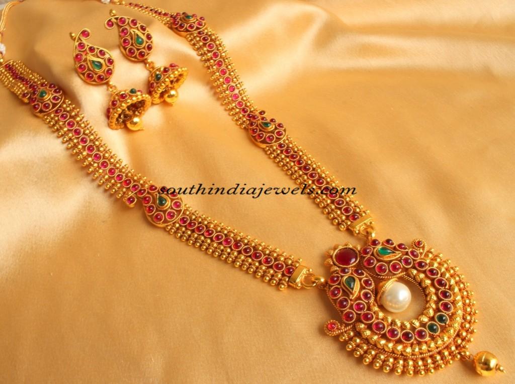 imitation jewellery long mango mala