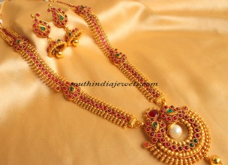 imitation jewellery long mango mala