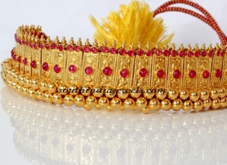 latest gold choker design