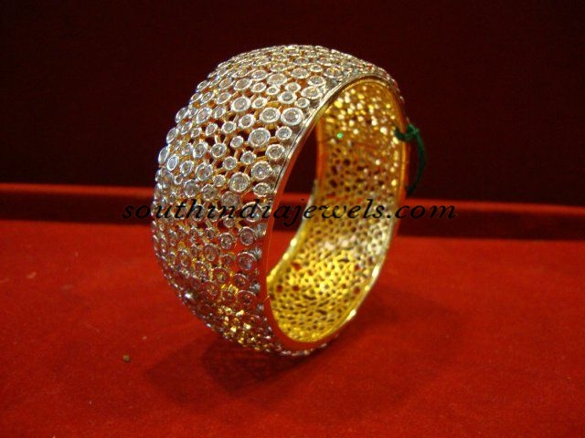 Uncut Diamond Bangle
