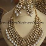 Polki Uncut Diamond Jewellery necklace