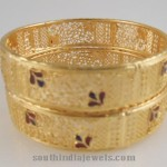 1 Gram Gold Jewellery Bangle