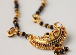 22K Gold mangalsutra chain design