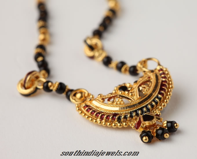 22K Gold mangalsutra chain design