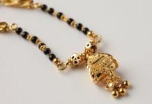 22k gold mangalsutra pendant