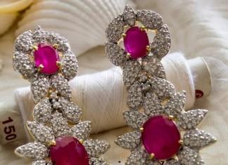 American Diamond Jewellery earrings