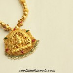 Antique Gold Ganapathy Pendant