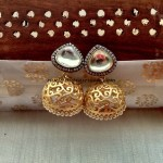 Gorgeous Anitque Jhumka designs photo