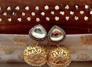 Antique jhumka design photos