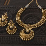 Antique Necklace set from Kushal Fashion jewellery
