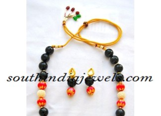 Beaded Jewellery necklace design