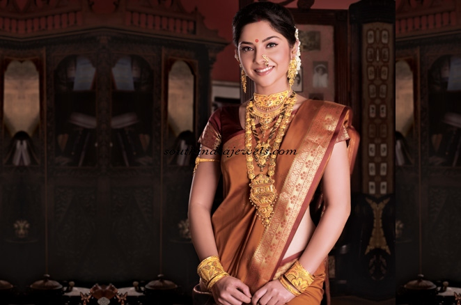 Bridal jewellery from manubhai jewellers